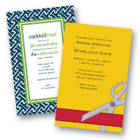 Party invitation themes Business Invitations