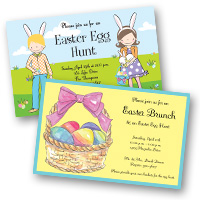 Seasonal holiday party Easter Invitations