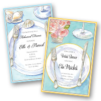 Wedding Related Rehearsal Dinner Invitations
