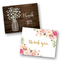 Wedding Stationery Thank You Cards