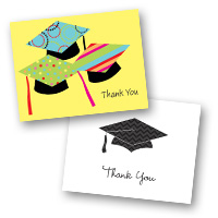 Graduation Stationery Thank You Cards