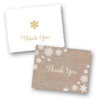 Christmas Stationery Christmas Thank You Cards