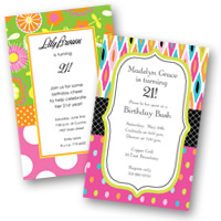 Adult Birthday Invitations 21st Birthday