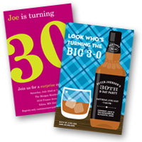 Adult Birthday Invitations 30th Birthday