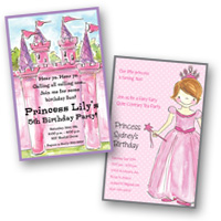 Popular Invite Themes Princess & Castle