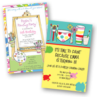 Popular Invite Themes Arts & Crafts