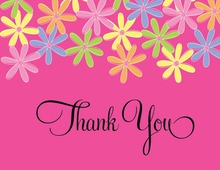 Whimsical Floral Thank You Cards