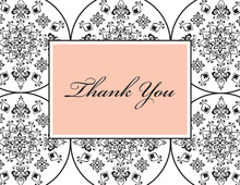 Filigree Thank You Cards