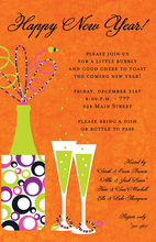 Celebrate New Year Invitations