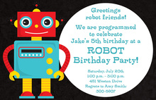 Programmable Robot Invitations