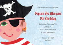 My Style Of Pirate Invitations