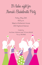 Bachelorette Girls Celebration Invites