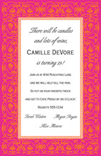 Formal La Vie Boheme Invitations