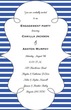 Brittany Stripe Invitations