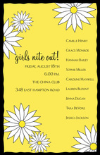 Creative Darling Daisy Invitations