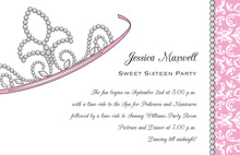 Admirable Your Highness Princess Invitations