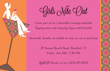 Relax Sitting Pretty Still Party Invitations