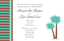 Palm Breeze Invitations