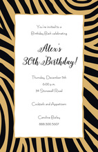 Strong Animal Instinct Invitations