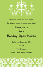 Family Open House Invitations