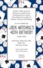 Gentlemen Casino Gaming Invitations