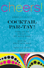 Say Cheers! Party Invitations