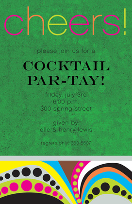 Hosting Cheerful Party Invitations