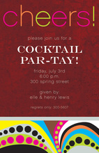 Holiday Cheers Party Invitations