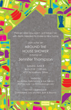 Iconic Household Items Invitation