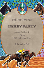 Favorites Derby Party Invitations