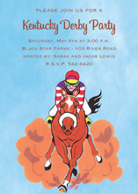Winning Horse Derby Invitations