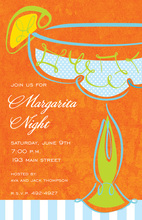 Freshly Orange Margarita Invitations