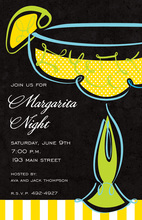 Whimsy Margarita Fiesta Invitations