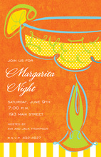 Bright Margarita Swirl Invitations