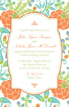 Modern Lotus Invitations