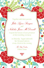 Sophisticated Lotus Invitations