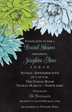 Illustrating Floral Painted Invitations