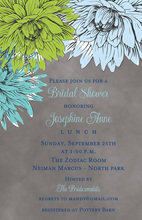 Superb Floral Painted Invitations