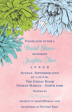 Formal Floral Painted Invitations