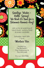 Spring Whimsical Floral Invitations
