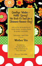 Fresh Inspired Mixed Floral Invite