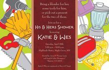 Garden Kitchen Tools Invitation