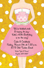 My Sweet Birthday Girl Invitations
