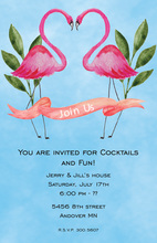 Iconic Flamingo Love Invitations