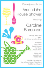 Kitsch Shower Invitations