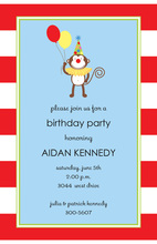 Silly Monkey Invitation