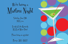 Martini Night Invitations