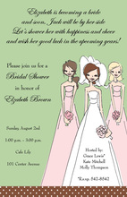 Cocoa Bridesmaids Invitation
