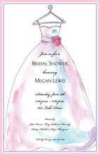 Formal Dainty Dress Invitation
