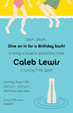 Pool Fun Invitation